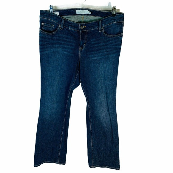 Torrid Relaxed Boot Cut Bootcut Stretch Jeans 16R